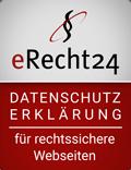 erecht24 - Siegel Datenschutz