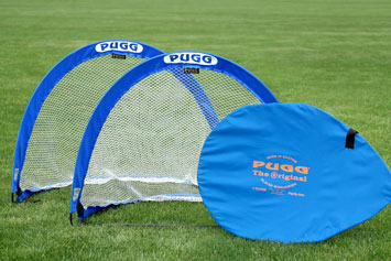 PUGG-Fussballtor - 4 Footer Pop Up Tor in Blau kaufen