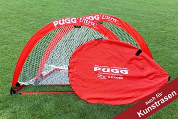 PUGG-Fussballtore - Pop Up Tor 5 Footer in Rot kaufen